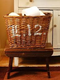 how to clean wicker baskets simple stenciled basket hgtv