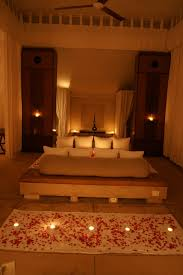 Rose Petals Room Decoration Bedroom Nice Romantic Bedroom Decoration With Candles Ideas