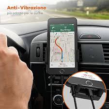 porta cellulare auto supporto auto smartphone taotronics porta cellulare auto a 360