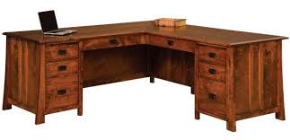 dresden amish handmade corner desk countryside amish furniture
