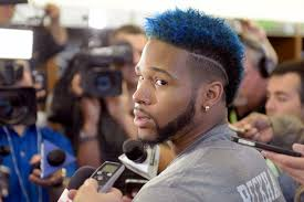 odell beckham hairstyle giants odell beckham jr a football god and a style god