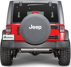 jeep cherokee american flag mopar jeep logo tire covers in black denim with white jeep logo