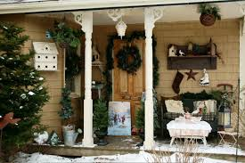 Decorate Outside Bench Christmas by Front Porch Bench Christmas Decorations U2013 Decoto