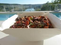 cuisiner les tomates cerises salade de lentilles au chorizo et aux tomates cerises philandcocuisine