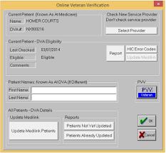Veterans Affairs Help Desk Patient Verification For Veteran Affairs Dva Helpdesk
