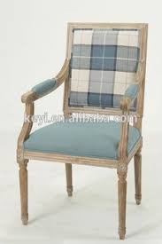 Wooden Frame Armchair Square Back Solid Wood Coffee Room Use Armchair Wooden Wooden