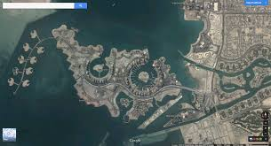 Doha Qatar Map Qatar Map Google Earth Image Gallery Hcpr