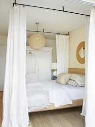 Diy Canopy Bed Ceiling Mount Curtain Rods Canopy Bed Genwitch In The Stylish As