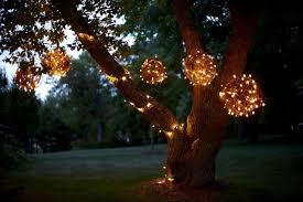 light balls for outdoor trees lights decoration