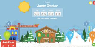santa map maps follow santa s path around the with s santa