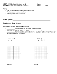 worksheet 6 4 graphing linear equations name
