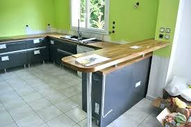 pied de plan de travail cuisine plan de travail bar bar fait maison pied bar cuisine plan de travail
