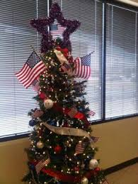 Southwestern Christmas Decorating Ideas Military Themed Christmas Tree Bless Our Troops Holidays On