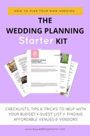 wedding planning help the wedding planning starter kit
