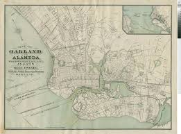 map of oakland maps of oakland ca large historic maps for sale 2017