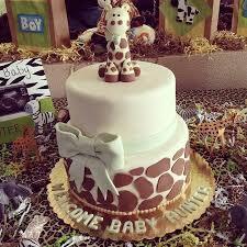 giraffe cake fondant baby girl giraffe cake topper picmia