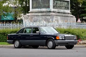1987 mercedes s class 560 sel berline driver market