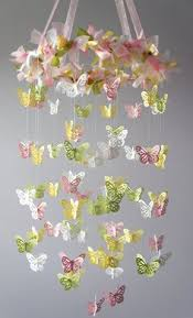 Butterfly Chandelier Diy Butterfly Chandelier Using A Craft Punch Fishing Wire