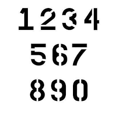 commercial stencils signs letters u0026 numbers the home depot