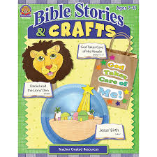 bible stories and crafts tcr7046 teacher created resources