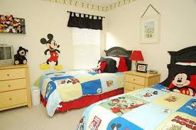 Mickey Mouse Toddler Bedroom 15 Mickey Mouse Inspired Bedrooms For Kids Rilane