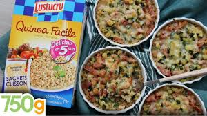cuisine 750g mini gratins de quinoa aux courgettes lardons 750g express