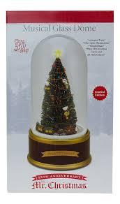 Mr Christmas Ornament - amazon com mr christmas limited edition holiday musical glass