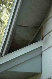 how to repair sagging loose soffits building u0026 construction