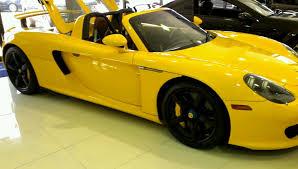 yellow porsche porsche gt yellow