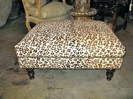 Printed Ottomans Printed Storage Ottoman Fresh Wonderful Leopard Print Ottomans