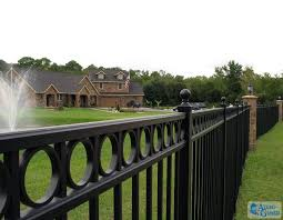 home alumi guard ornamental aluminum fencing
