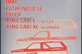 1989 nissan truck and pathfinder wiring diagram manual original