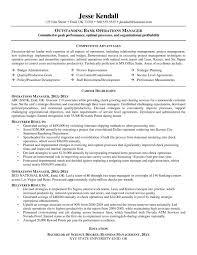 Resume Skills For Bank Teller Sample Bank Resume Resume Example Example Investment Banking