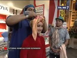tutorial jilbab ala ivan gunawan tutorial pemakaian hijab ala ivan gunawan youtube