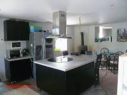 cuisine ouverte ilot central cuisine ouverte avec ilot bar pour idees de deco de cuisine best of