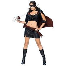 Western Halloween Costumes Lady Zorro Womens Western Bandito Mexican Wild West