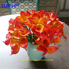 White Lily Flower Online Get Cheap White Lily Flower Arrangement Aliexpress Com