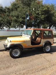 jeep 1982 1982 jeep cj7 renegade jamaican beige jeep cj7 pinterest
