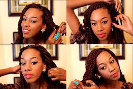 expression braids hairstyles how i style my box braids youtube