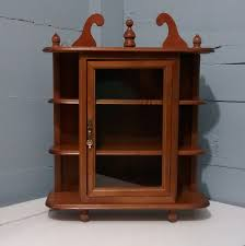 Wall Mounted Curio Cabinet Wall Curio Cabinet Glass Doors
