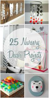 Diy Nursery Decor Remodelaholic 25 Nursery Decor Projects
