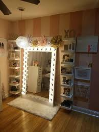 Bedroom Makeup Vanity With Lights Makeup Vanity Light Ideas Vanity Mirror With Lights For Bedroom