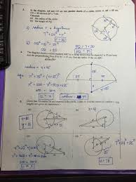 Segment Lengths In Circles Worksheet Answers Grade 11 Circles Worksheets Answer Ateneo High