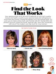tapped hair cut for over 5o perfect cut for women over 50 60 and 70