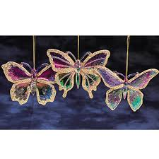 pack of 36 princess garden iridescent u0026 glitter butterfly