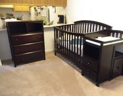 black crib with changing table white baby crib with changing table and storager cribs storage 24c