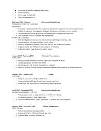 professional health unit coordinator resume template page 2
