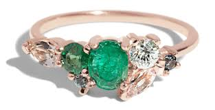 custom cluster v shaped ring bario neal 2017 batch 9 cust emerald heirloom cluster ring 14r 1 2 web2 jpg