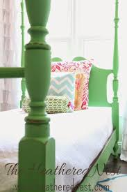 girls four poster beds best 25 painted beds ideas on pinterest painted bed frames