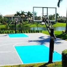 Basketball Court In The Backyard Backyard Basketball Courts In Interesting Home Basketball Court